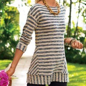 Soft Surroundings Marina Sweater Tunic